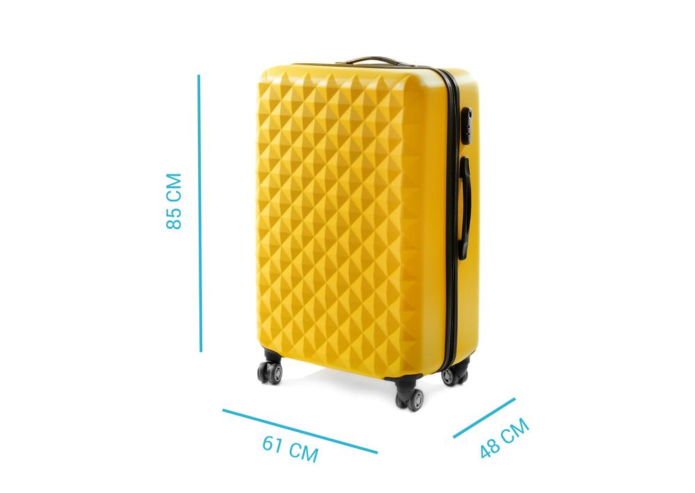Größe des Gepäckschranks
